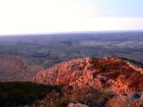 Sunrise on Mount Sonder